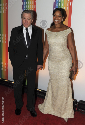 Robert De Niro And His Wife Attend The 35th Annual Kennedy Center Honors Performance Gala In Washington