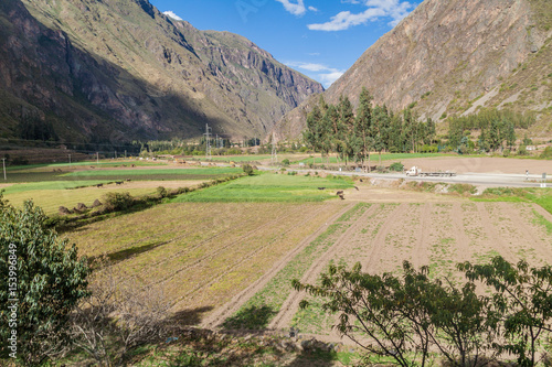 Fotografie, Obraz  Sacred Valley of Incas near Ollantaytambo, Peru