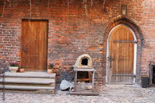 Fotografering  Dziedziniec zamku w Kętrzynie