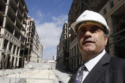 CEO Of Abdali Investment And Development PSC Mouhib Itani Speaks With A Reuters Reporter At The Project Site In Amman
