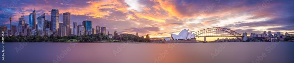 Valokuva  Sydney Harbour panorama