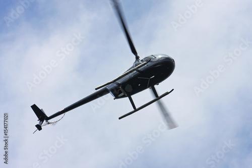 Türaufkleber Hubschrauber Helicopter flying