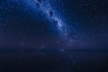 Milky Way Reflects Surface Of ...