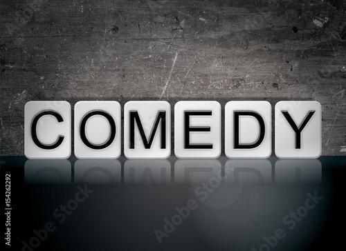 Fotografija  Comedy Concept Tiled Word