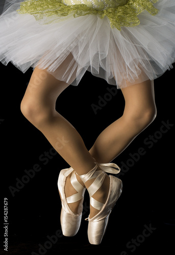Photo  Feet in ballet