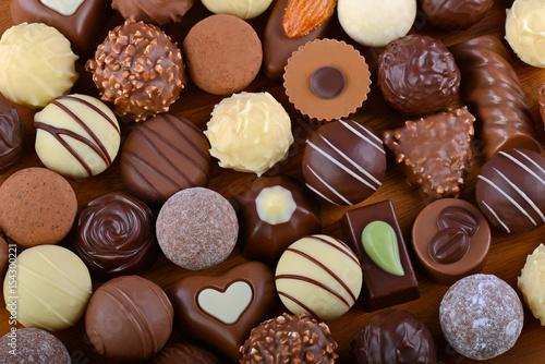 Plakat Wybór wybranych czekoladek