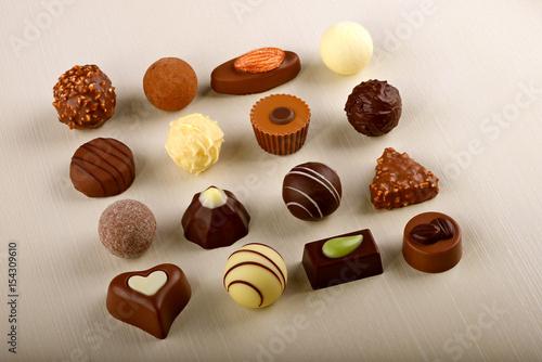 Plakat Ekskluzywne szwajcarskie czekoladki