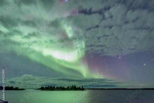 Poster Aurore polaire Aurora explosion