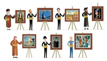 Great Seven Painters Of History