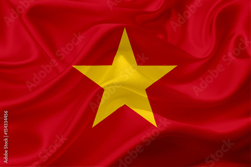 flag-of-vietnam-with-waving-fabric-texture