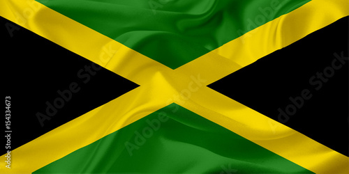 flag-of-jamaica-with-waving-fabric-texture