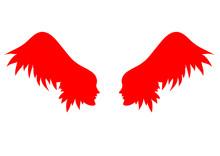 Vector Angel Wings.