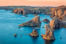 Sea Stacks At Mangersta Isle O...