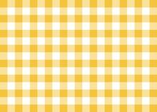 Dark Yellow Gingham Pattern Ba...