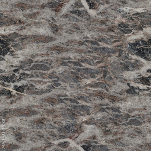 Aluminium Prints Marble Close up of fine image of dark grey marble stone. Seamless square background, tile ready.