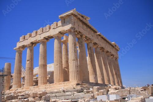 Athènes - L'acropole - Le Parthenon