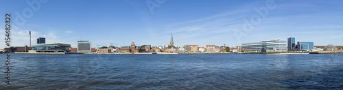 Photo  Aarhus waterfront panorama