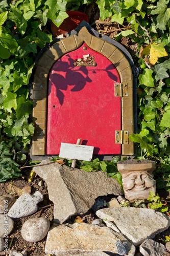 Fotografie, Obraz  Gnome's House's Front Door