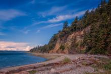Camano Island Beach Sand, Rock...