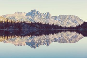 FototapetaAlpine lake