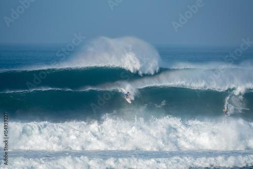 Fotografie, Obraz  hossegor la nord surf grosse vague