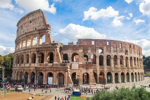 Photo  Colosseum in Rome, Italy