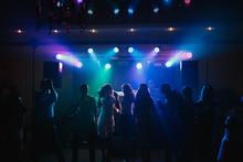 The Guests Dancing On The Dancefloor