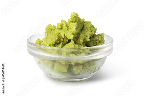Canvas Print Bowl with Wasabi