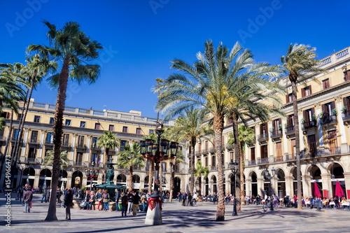 Papiers peints Barcelona Barcelona, Placa Reial