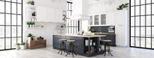Modern Nordic Kitchen In Loft ...