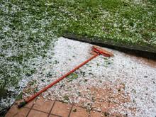 Unseasonal Weather. Large Hail...
