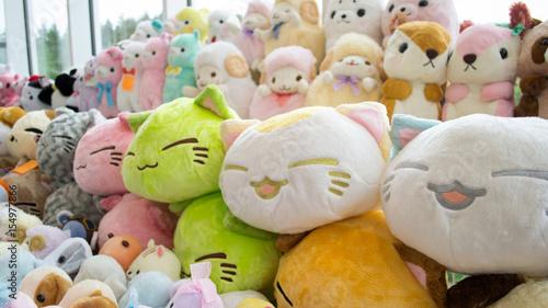 Photo  Stuffed animals: Cat