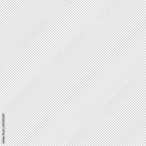 Background with diagonal grey lines, vector illustration Fototapeta