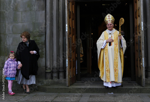 Leader of the Roman Catholic Church in Scotland Cardinal O