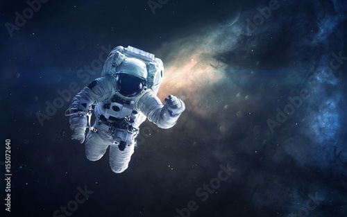 Foto op Aluminium Heelal Deep space beauty, planets, stars and galaxies in endless universe. Elements of this image furnished by NASA