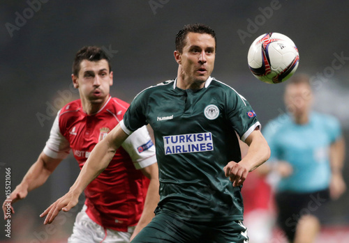 Football Soccer - Braga v Konyaspor - UEFA Europa League