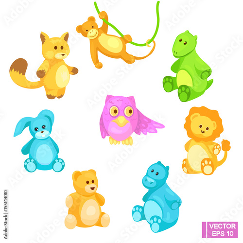 Set of toy animals #155144010