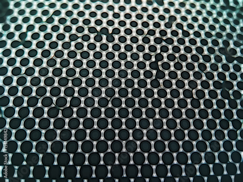 Staande foto Grafische Prints Metal carbon future texture background