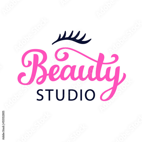 logo-beauty-studio-rozowo-czarne