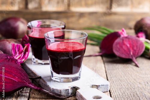 Fotografie, Obraz Organic  healthy beetroot juice