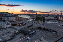 Slussen Stockholm Cityscape
