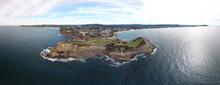 Terrigal Coastline Central Coast Nsw Australia Panorama