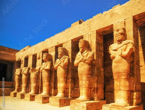 Tuinposter Egypte Karnak Temple, Hall of caryatids. Luxor, Egypt