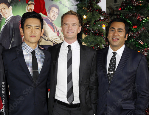 actors john cho neil patrick harris and kal penn at the premiere of the - A Very Harold Kumar 3d Christmas Cast