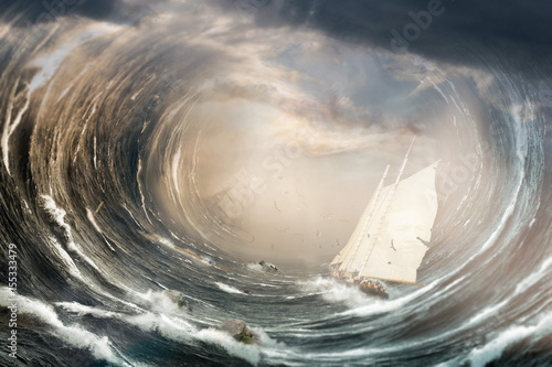 Fotografia tempête