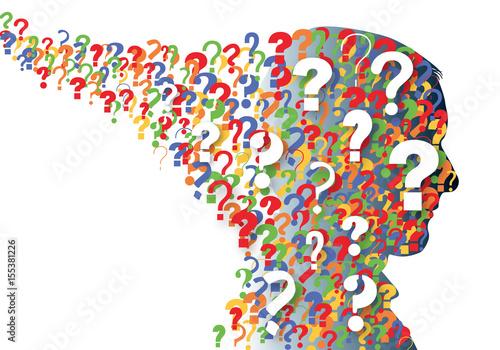 Fotografía  question - problème - solution - FAQ - foire aux questions - interrogation