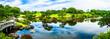 新緑の 水前寺成趣園