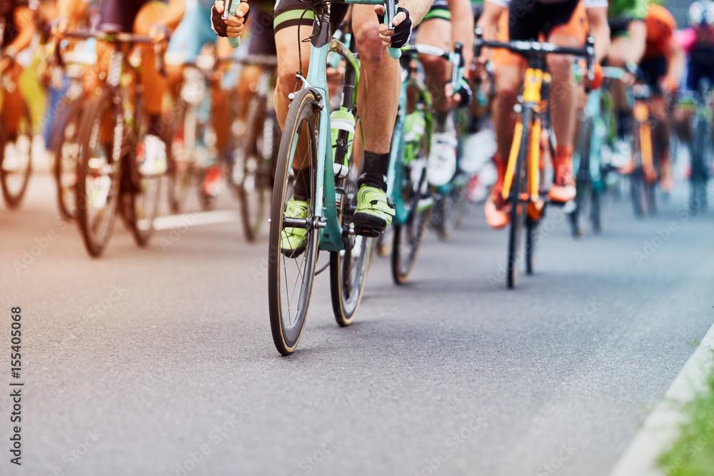 Fototapeta Cycling race