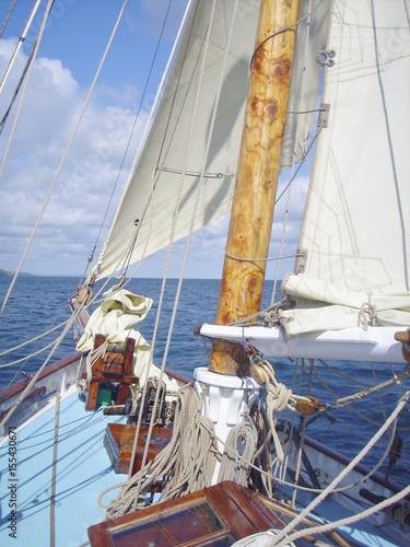 Fototapeta Sailing Falmouth 2 obraz na płótnie