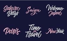 Placenames Lettering Set